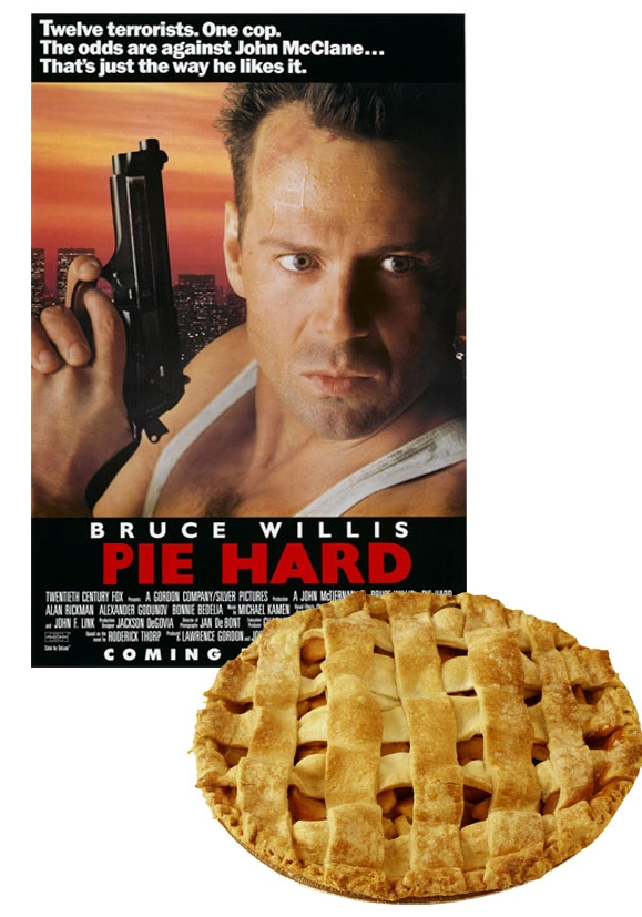 One amazing movie. One delicious pie. Just the way I like it.