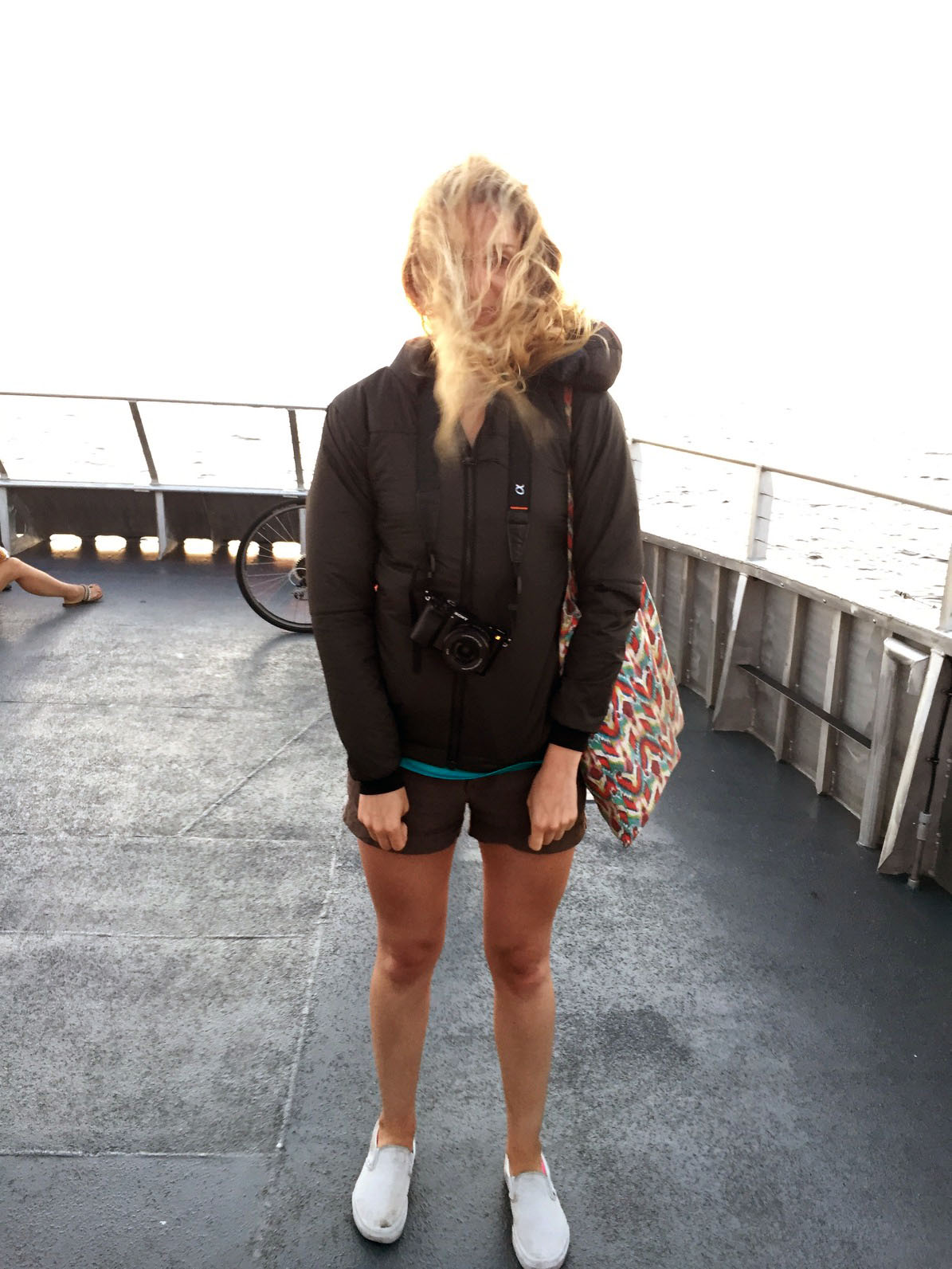 Warning: The ferry gets pretty windy.