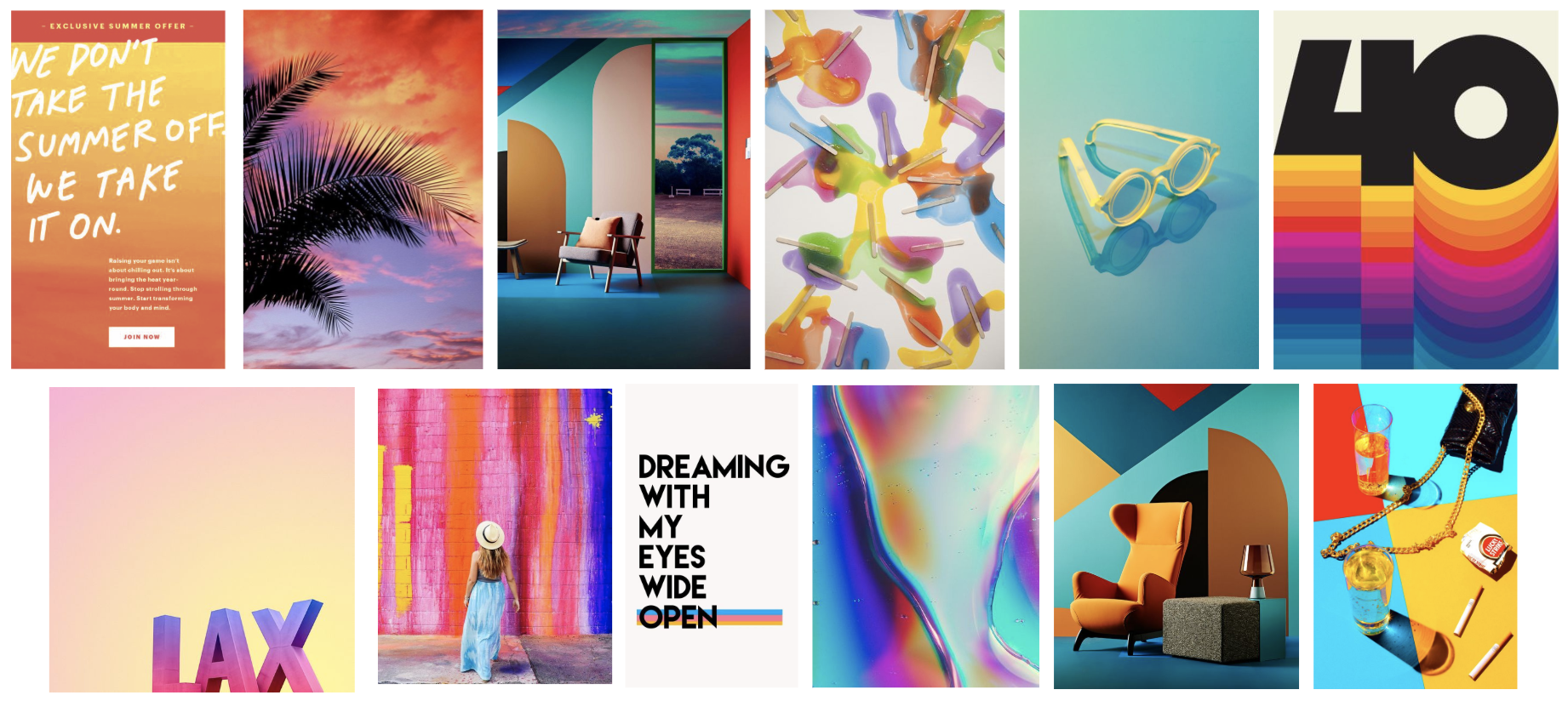 SUMMER VISUAL INSPIRATION