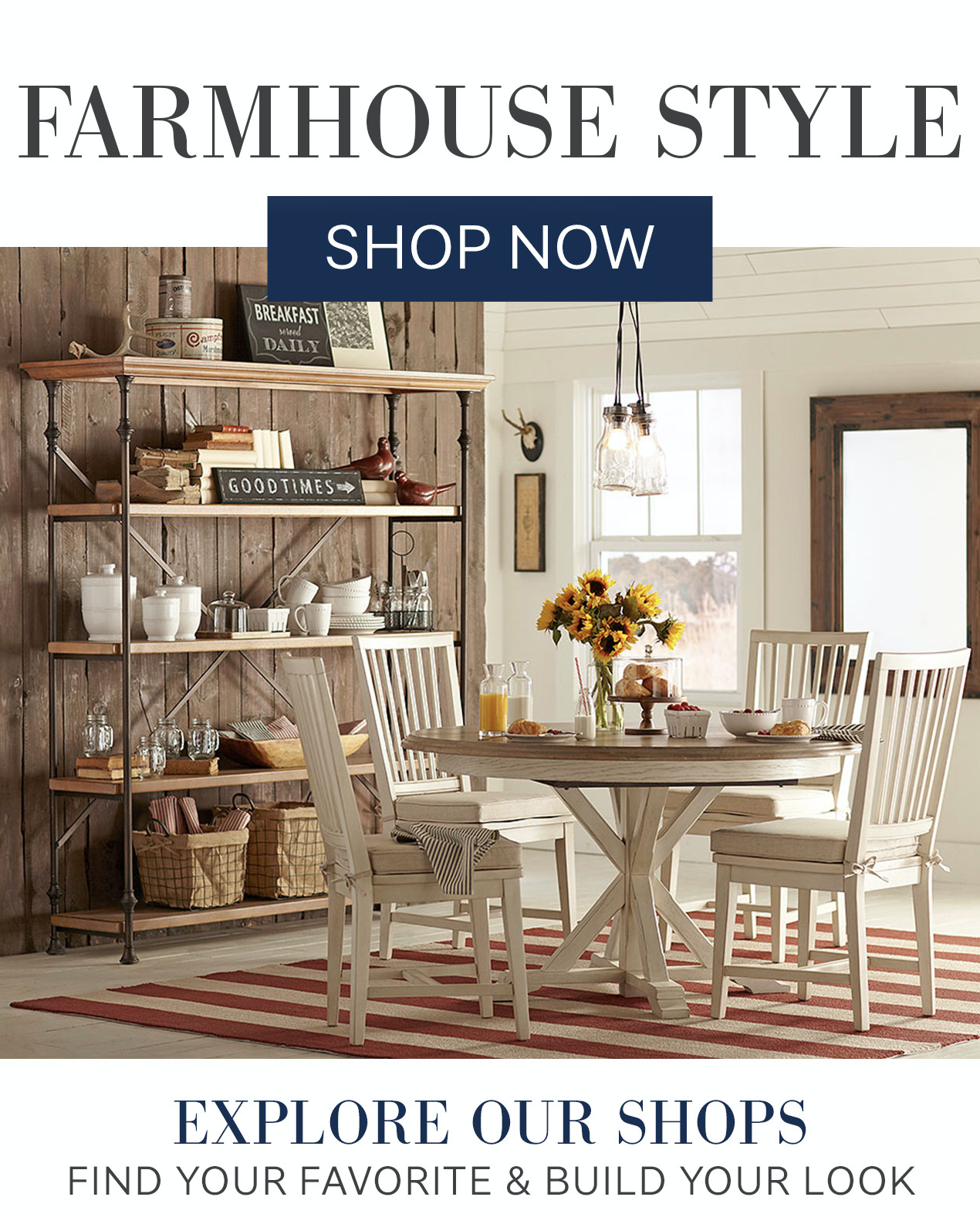 SL:  Farmhouse (adj.) | definition: the look you love  TL:  Hundreds of entries to peruse.