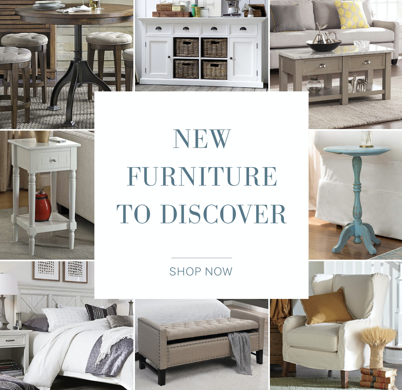 SL:  Breaking NEW(s) 📰 Furniture. Lots of it.  TL:  Sources say you won't want to miss it.