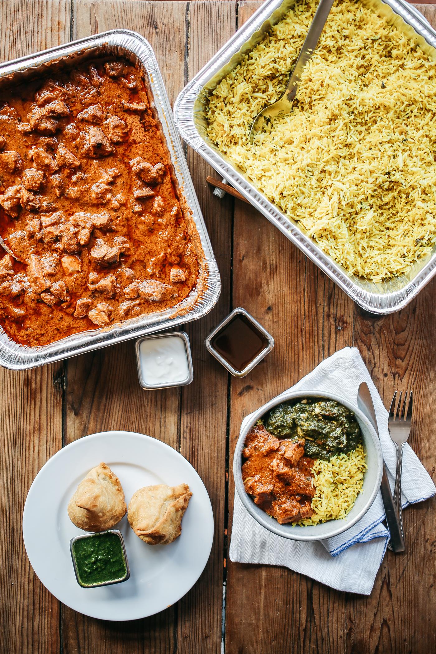 Catering — Indian Restaurant Bar Catering & Food Trucks