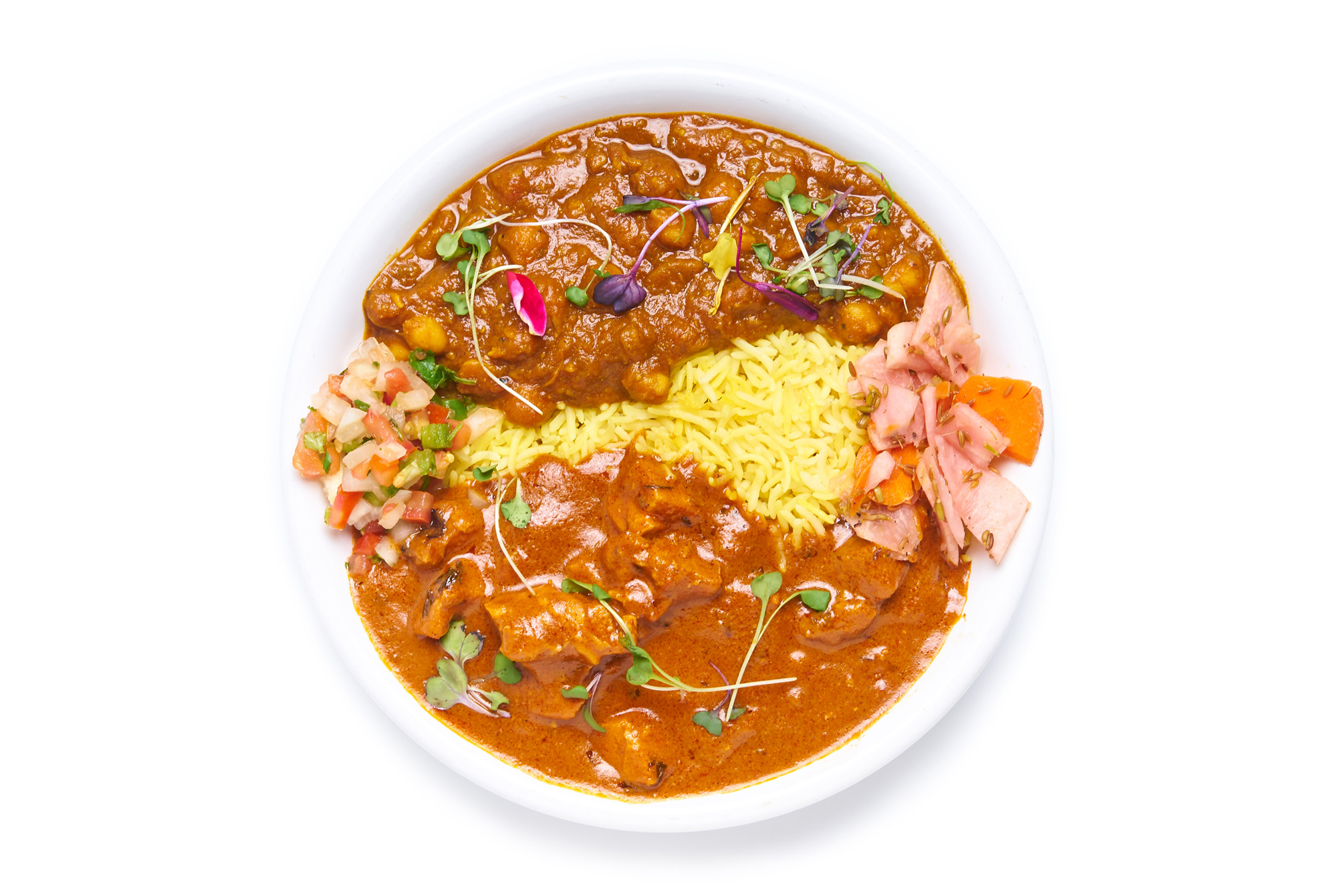TIKKA MASALA   our iconic tikka masala  choice of chicken or paneer (VG)