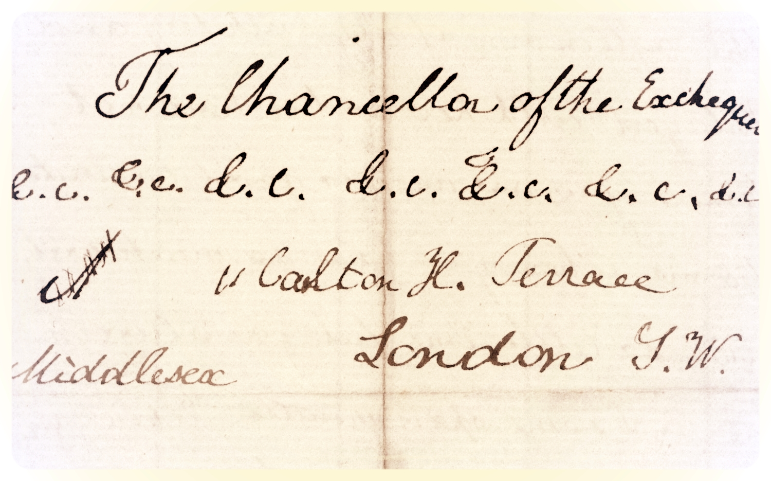 Mary Gladstone to W.E. Gladstone, 24 Nov. 1860. Flintshire Record Office, GG 603. All images used with permission.