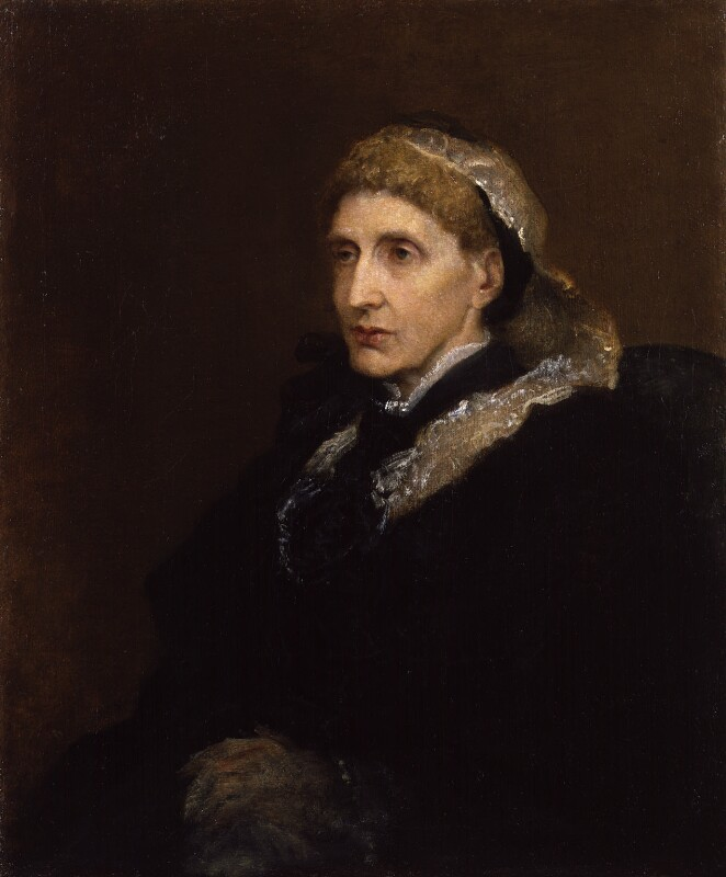 Josephine Butler by George Frederic Watts. Oil on canvas, 1895. NPG 2194.© National Portrait Gallery, London.  License .