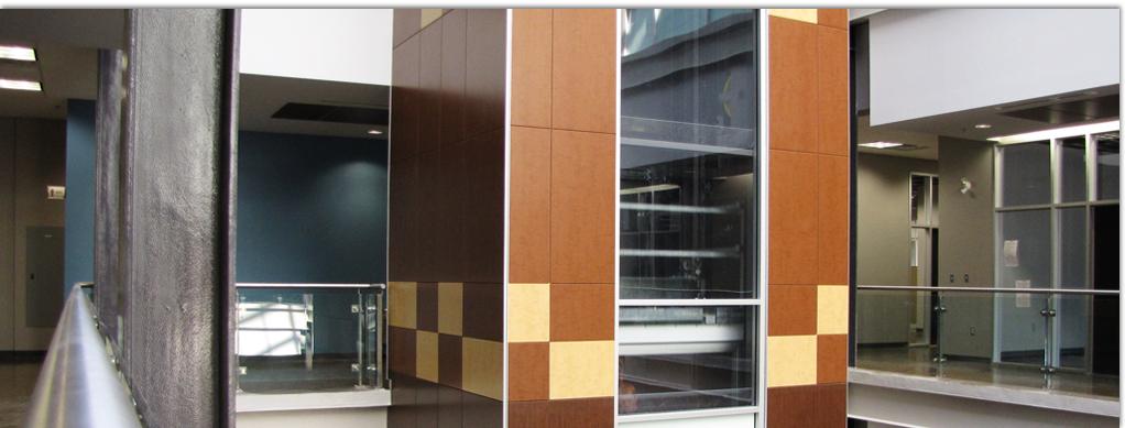 McMaster Innovation Park   Marlite Designer Wall System