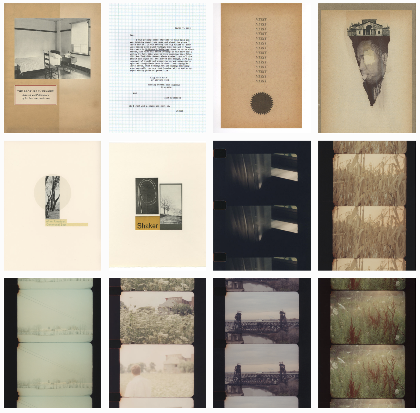 The Brother In Elysium: Artwork and Publications by Jon Beacham, 2008–2013