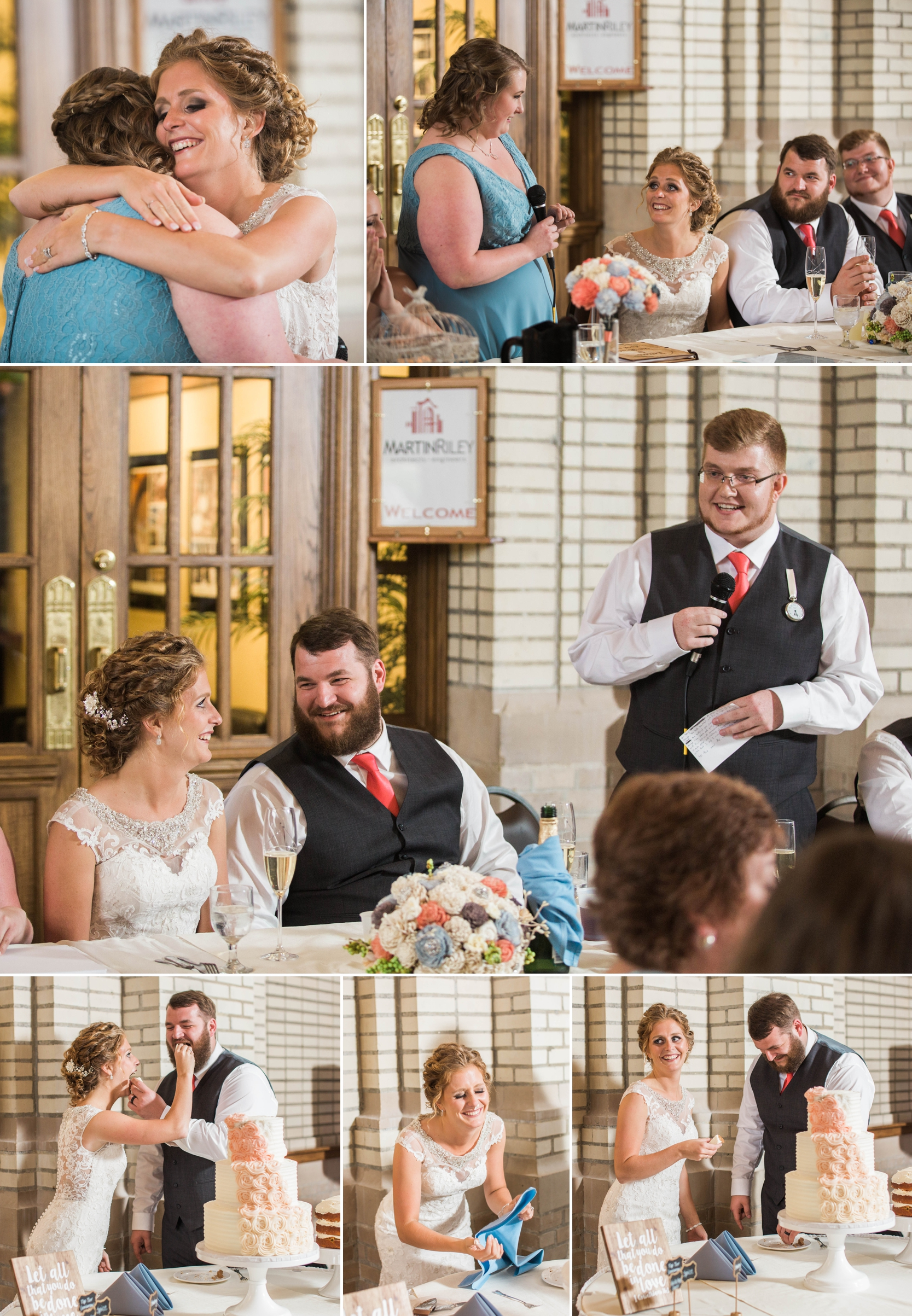 wedding - wedding day - reception - bride - groom