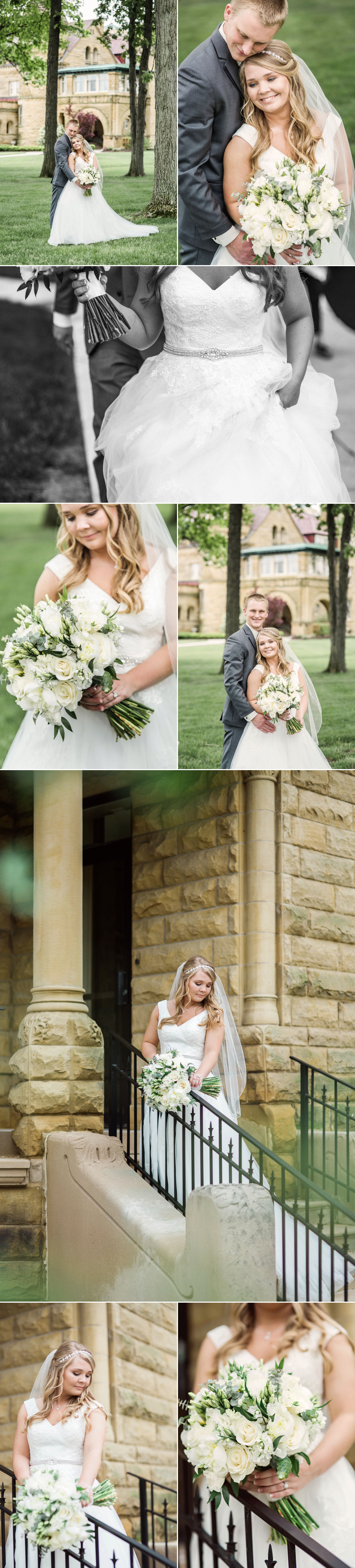 bride - flowers - bouquet - fort wayne - indiana