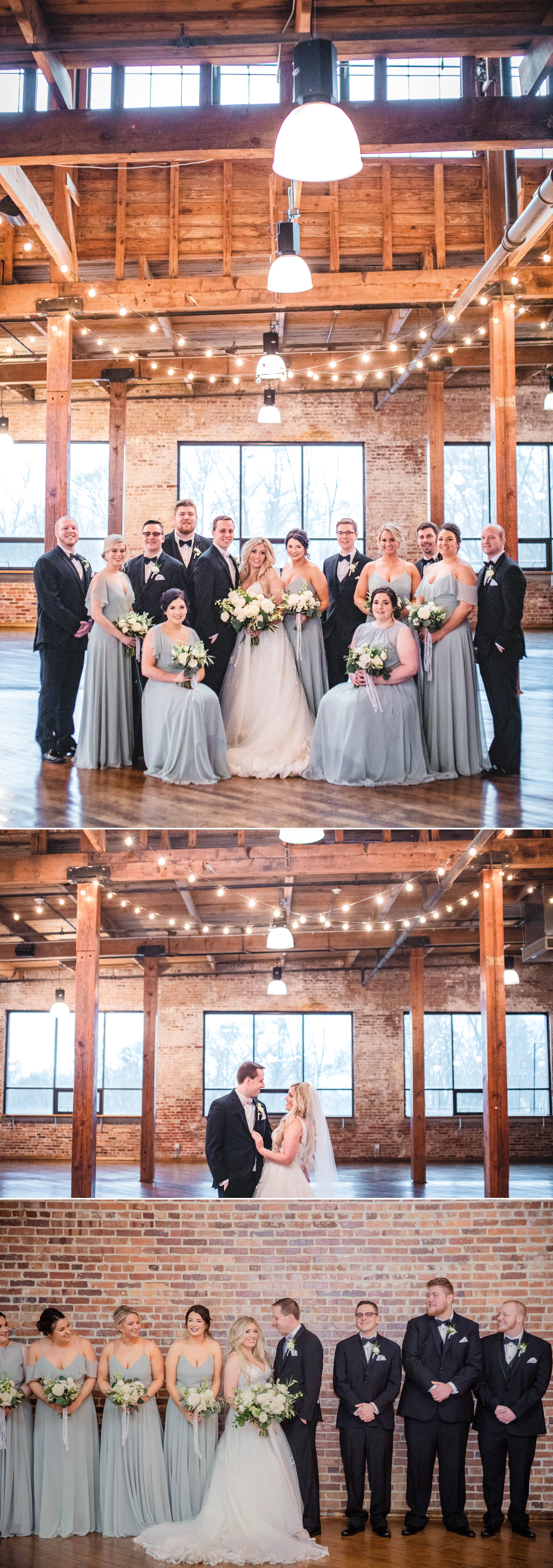biltwell event center wedding party portraits