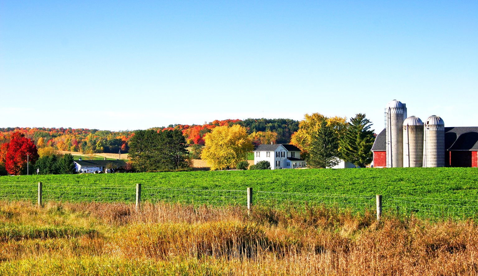"Source:  Randen Pederson, ""Autumn Farm,""  Creative Commons Attribution"
