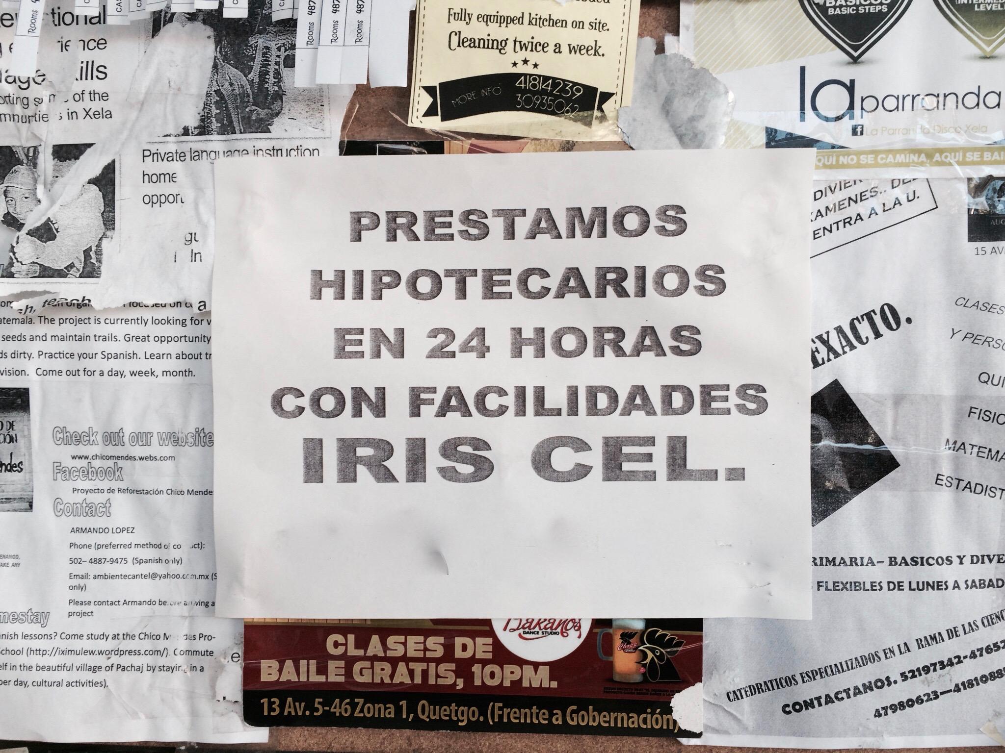 Prestamos hipotecarios en 24 horas, Departamento de Quetzaltenango (Anonimizada). Créditos fotográficos: Lauren Heidbrink