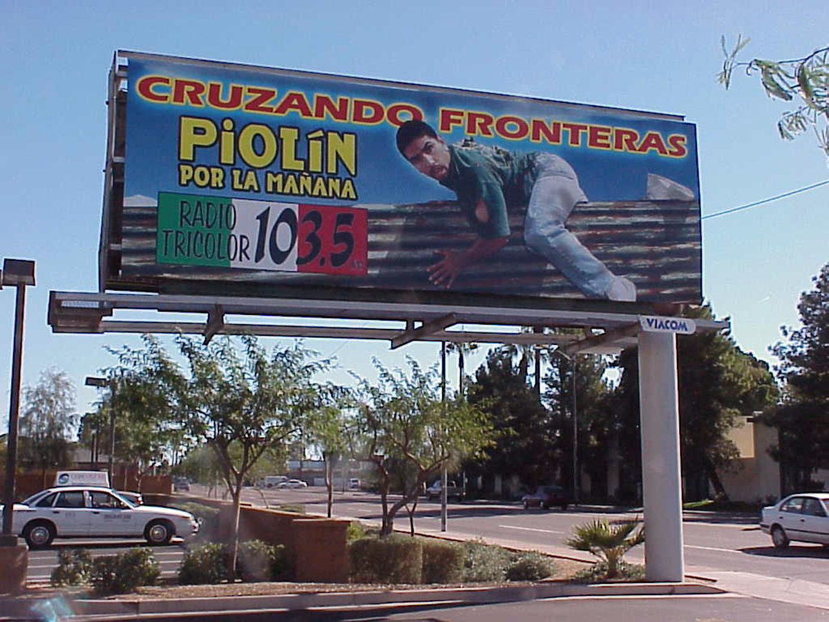 Billboard in central Phoenix neighborhood (2012), Kristin Koptiuch