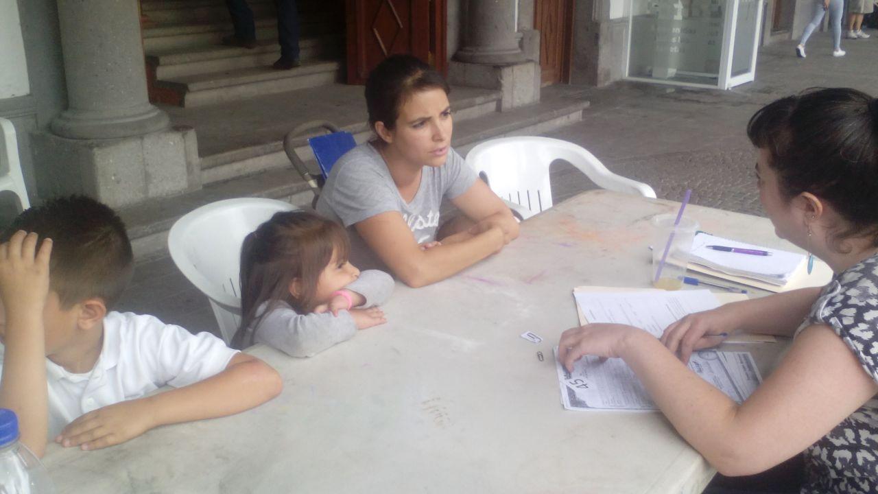 Residents of Zapotlanejo, Jalisco participate in the Derecho a la Identidad campaign. Photo Credit: Ewa Bednarczyk