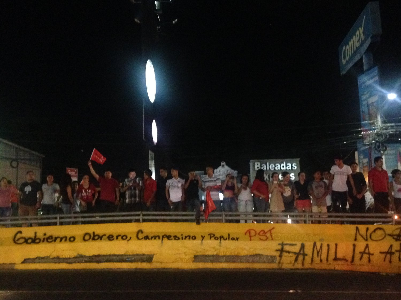 San Pedro Sula, Cortés. Lunes, 27 de noviembre. Foto crédito: autora.