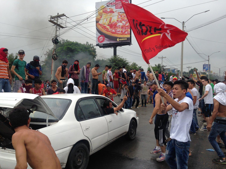 Rio Blanco, San Pedro Sula, Cortés. Viernes, 1 de diciembre. Foto crédito: autora.