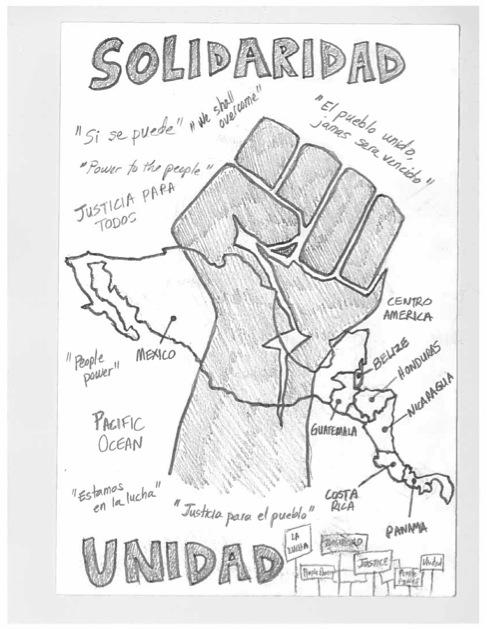 Solidaridad. Creditos: Autora.