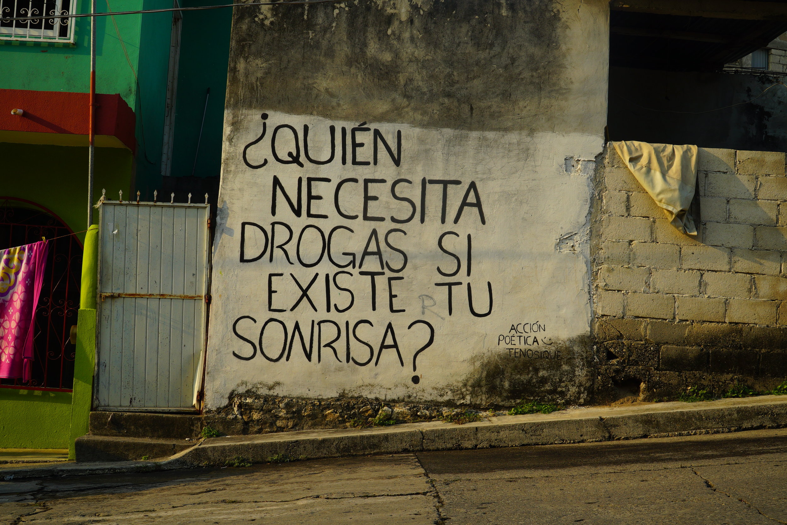 Por las calles de Tenosique.  Créditos Fotográficos : Irving Mondragón