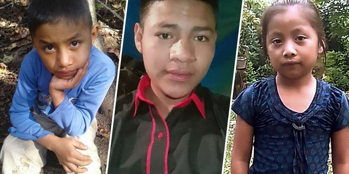 Felipe Gomez Alonzo, Carlos Gregorio Hernandez Vasquez and Jakelin Caal Maquin.