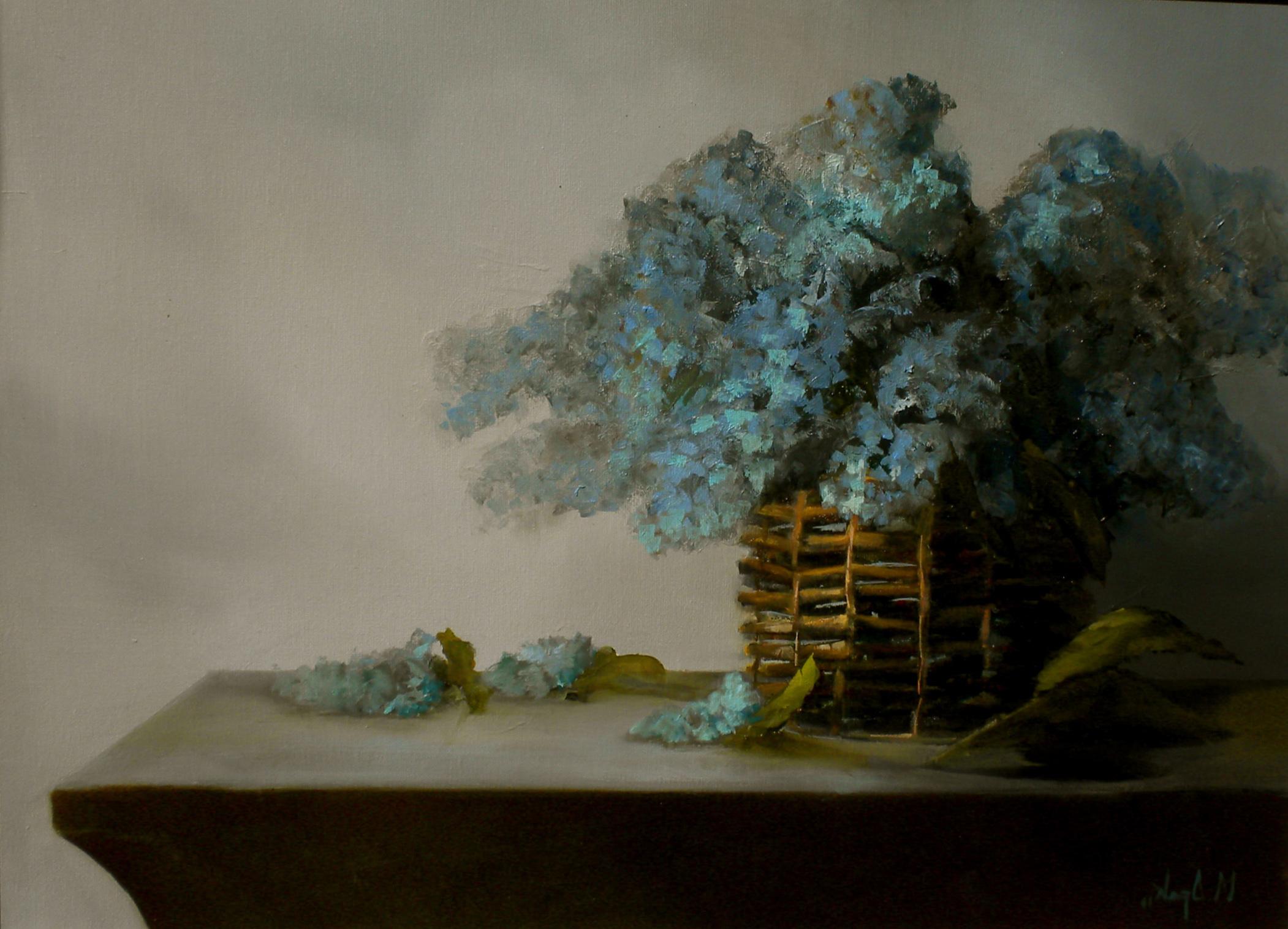 Hydrangea In Willow