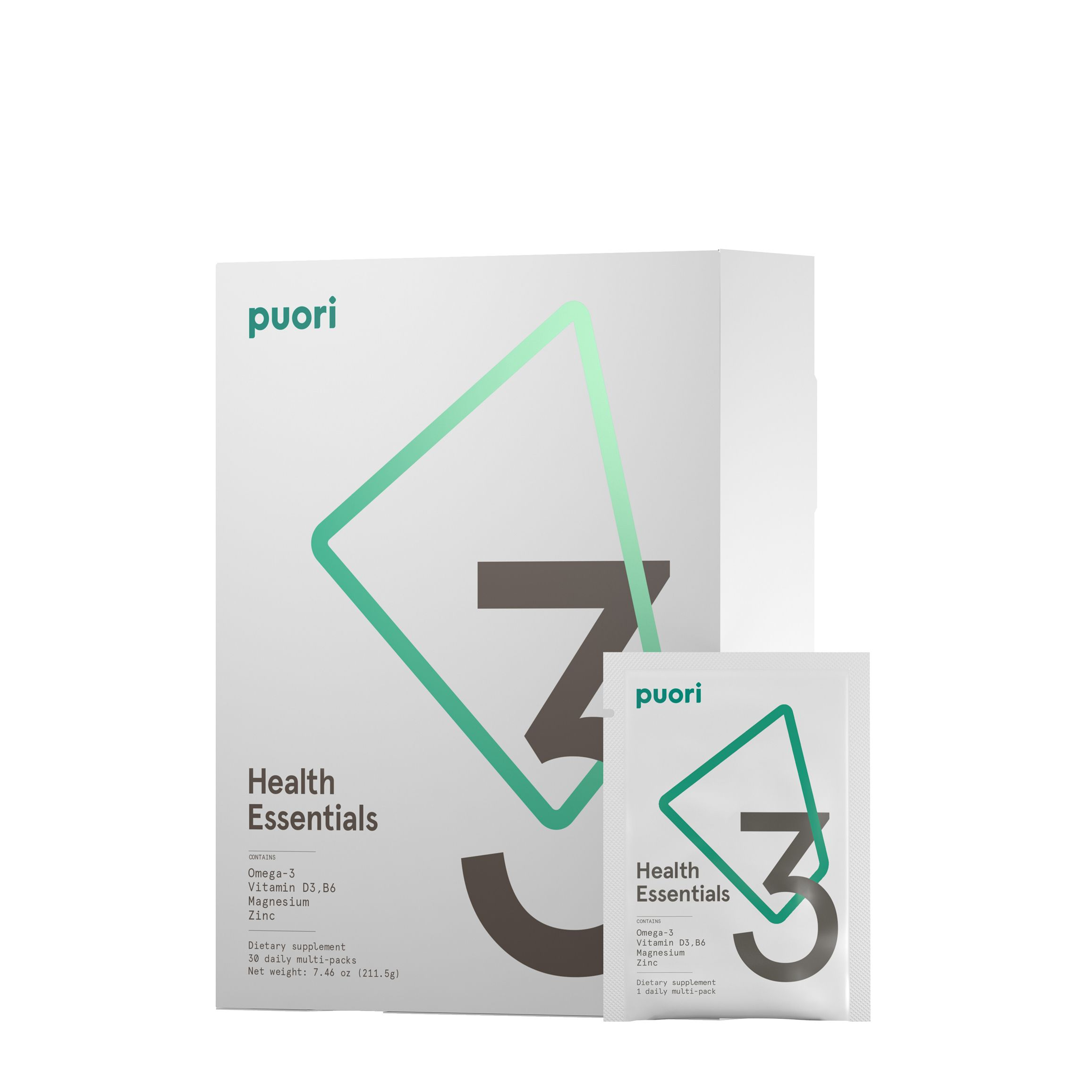 Multi- Vitamins: Puori Daily Packets   Recommended by my functional nutritionist. I take these daily paired with beef liver, a B Vitamin for Stress, and a daily probiotic.