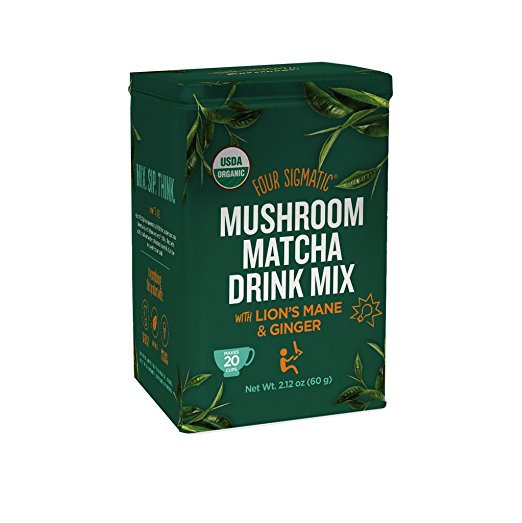 Matcha: Four Sigmatic Mushroom Matcha Drink Mix   This is my current favorite Matcha. It has functional mushrooms in it (Lion's Mane) that help me really to focus naturally throughout the day. I use 1.5 tsp in my morning bulletproof matcha every day