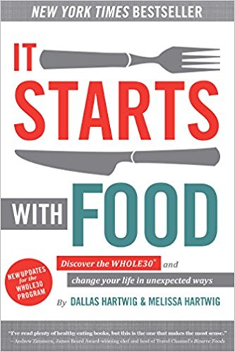 Book: It starts with Food   This is the first book I recommend for anyone looking to change what they eat. it is the first book by the Creators of Whole30 and does a great job explaining how food works in our bodies and why certain foods help us thrive and others do the opposite
