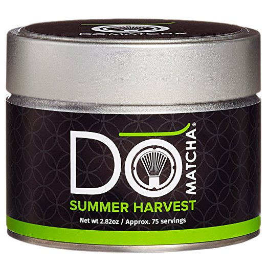 Matcha: DoMatcha Organic Summer Harvest Matcha   This was the first matcha I started using and I think it's great. Currently I am using the Foursigmatic Matcha above because I like the functional mushrooms but this is a nice pure one that's not crazy expensive