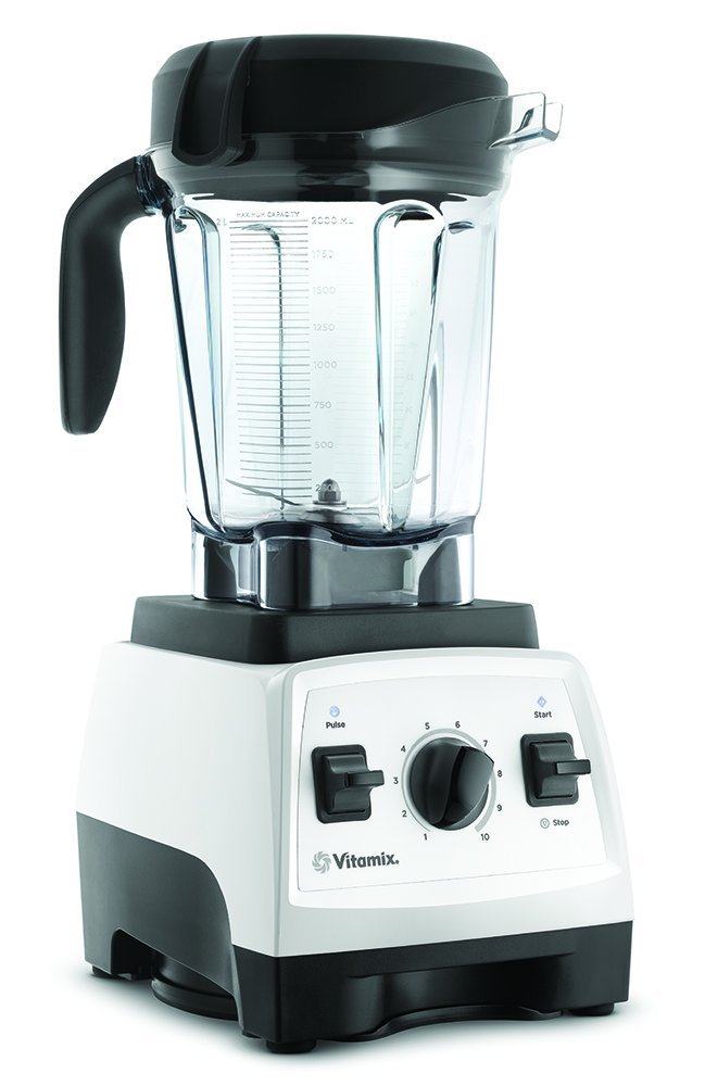 BLENDER: Vitamix 7500 Blender, White  I use this daily to mix my morning Bulletproof Matcha or Coffee. It is an investment but so worth it. Great for smoothies, soups, purees, sauces, and more. I liked the white one to match my kitchen