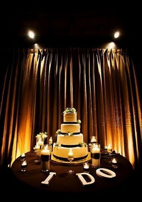 """Lighting for your wedding is """"totally worth it. """" Uplighting & Gobos are """"The most get-noticed totally-worth-it wedding details that'll add serious impact to your wedding day."""" - TheKnot.com"""
