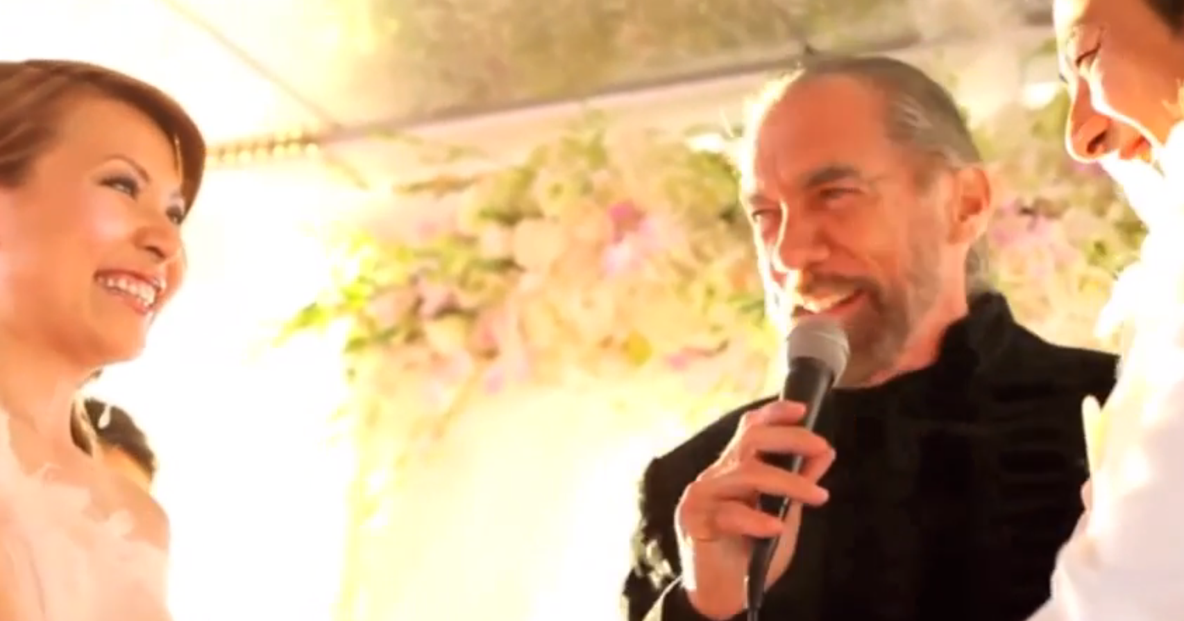 A favorite and memorable wedding including Founder of Paul Mitchell, Jon Paul DeJoria.