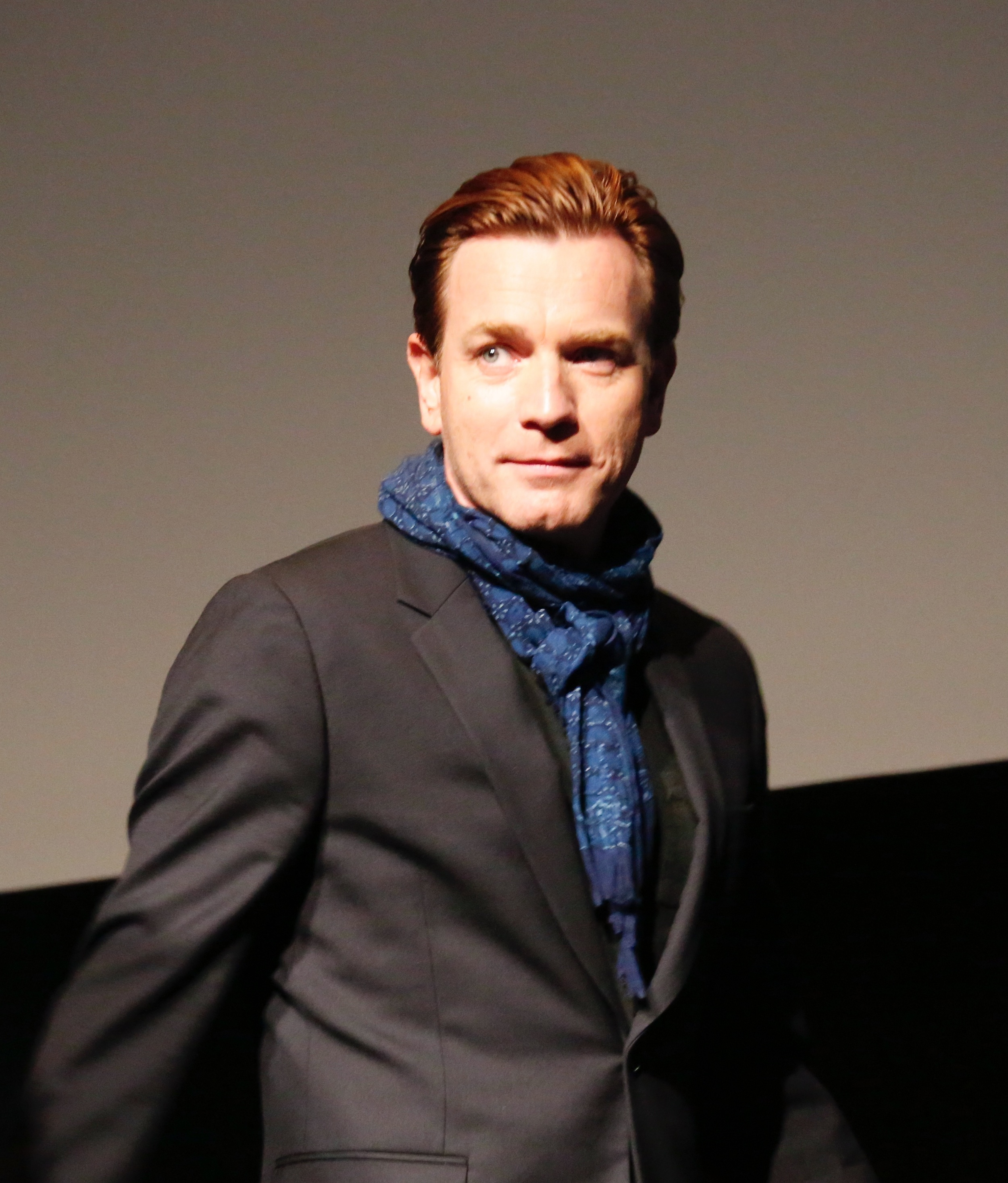 My photo of Ewan McGregor at NYFF