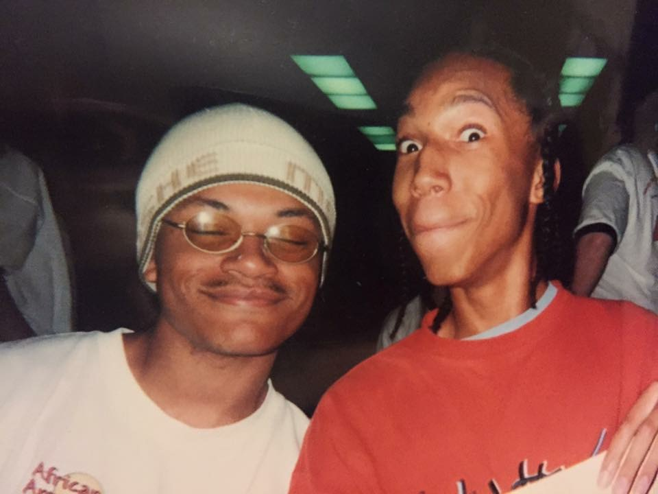 My friend Marco Collins and Your Friendly Neighborhood Christian circa 2001