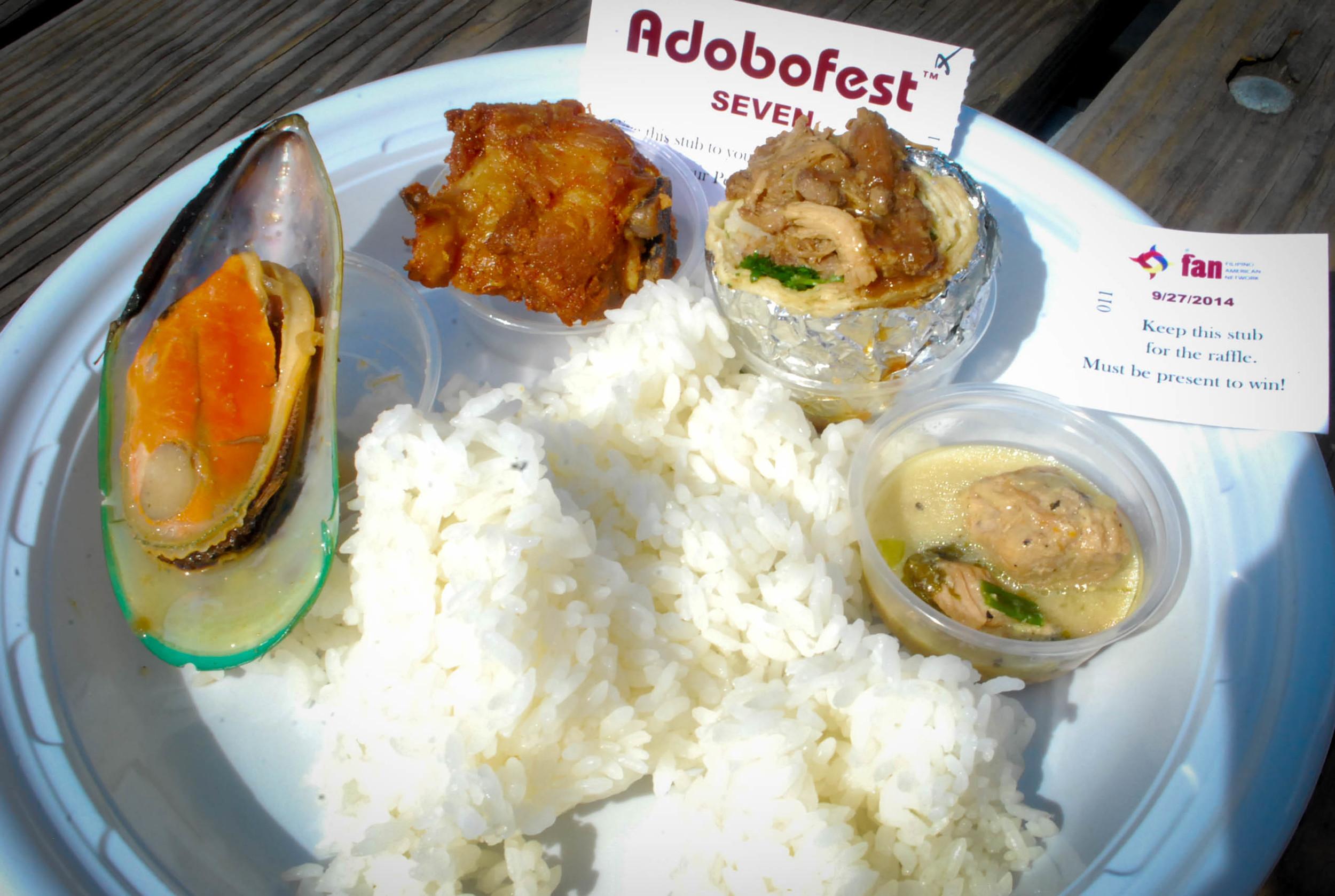 Varieties of Adobo at Adobo Fest