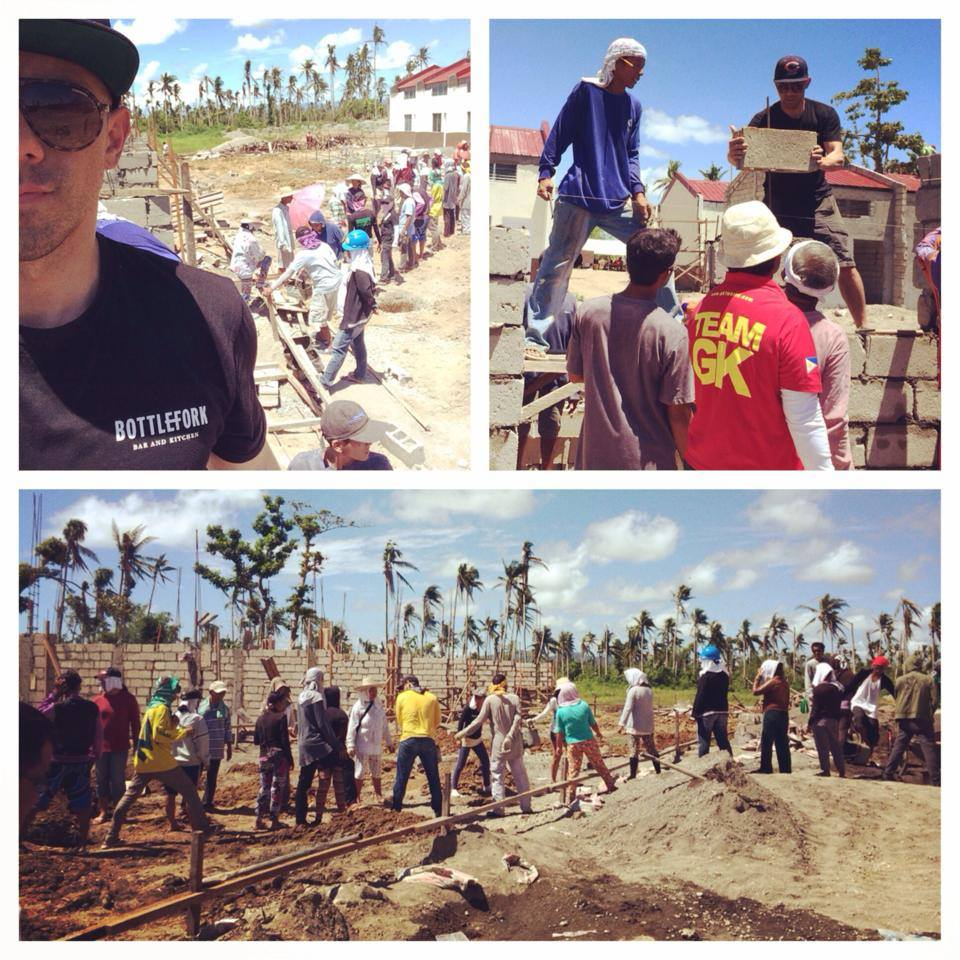 Photo Credit:  Billy Dec (@BillyDec  on Instagram) -- Rebuilding efforts in Tacloban, Philippines May 2014