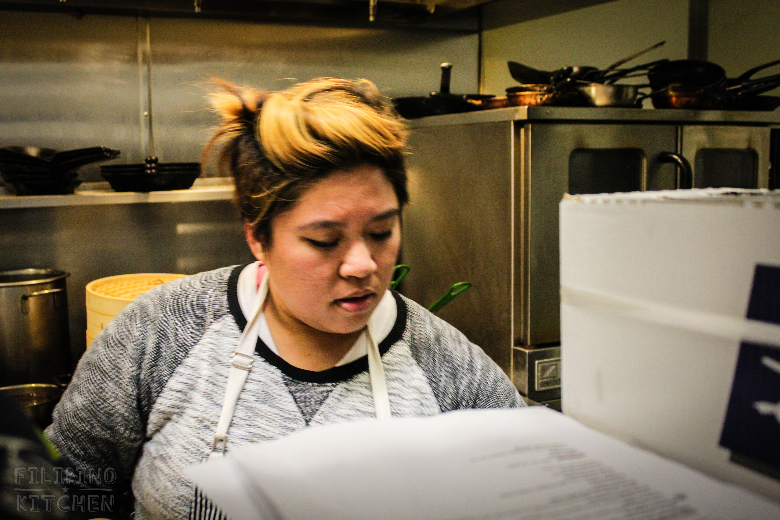 Chef Chrissy Camba of Maddy's Dumpling House