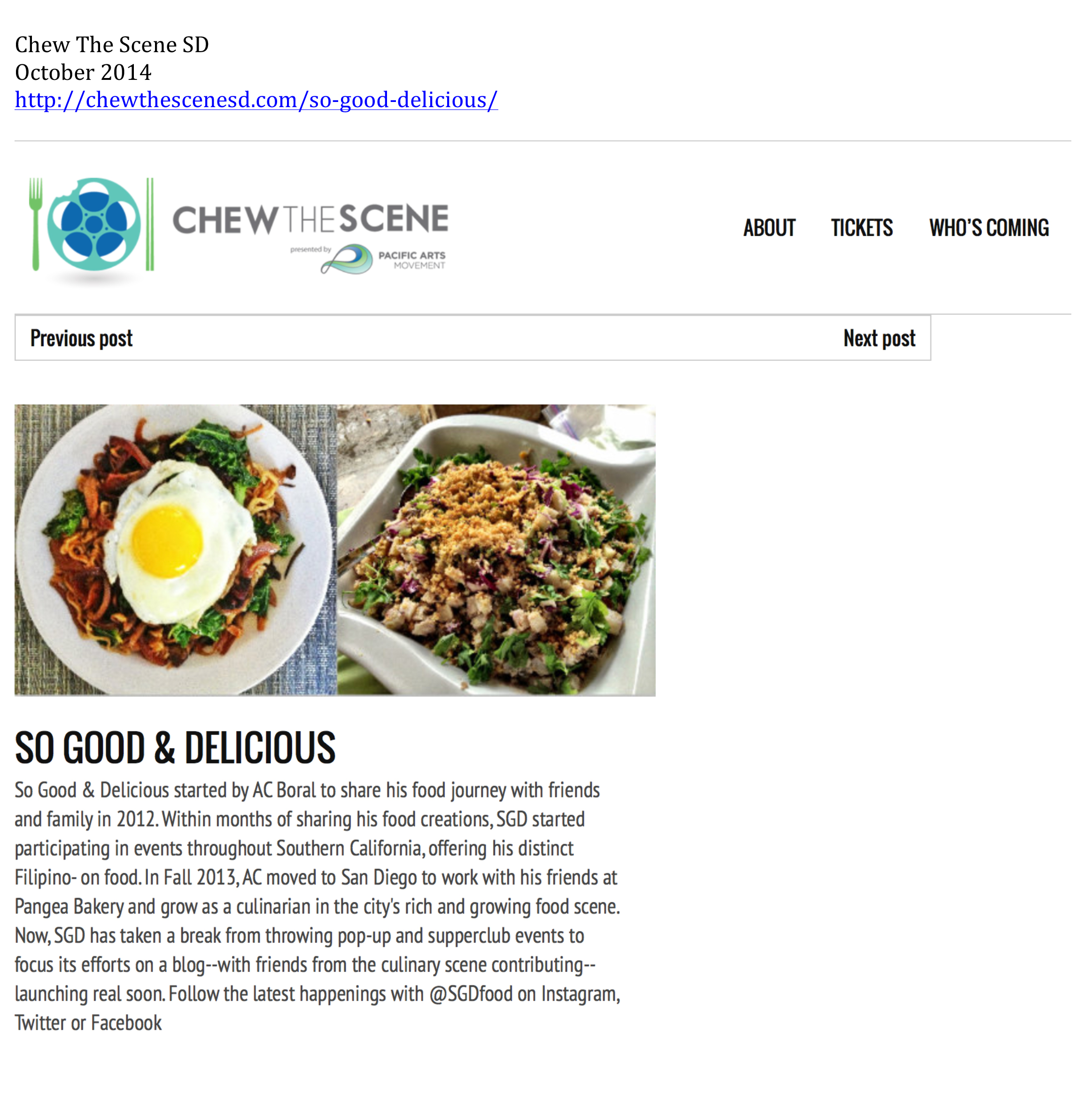 chew the scene san diego ac boral
