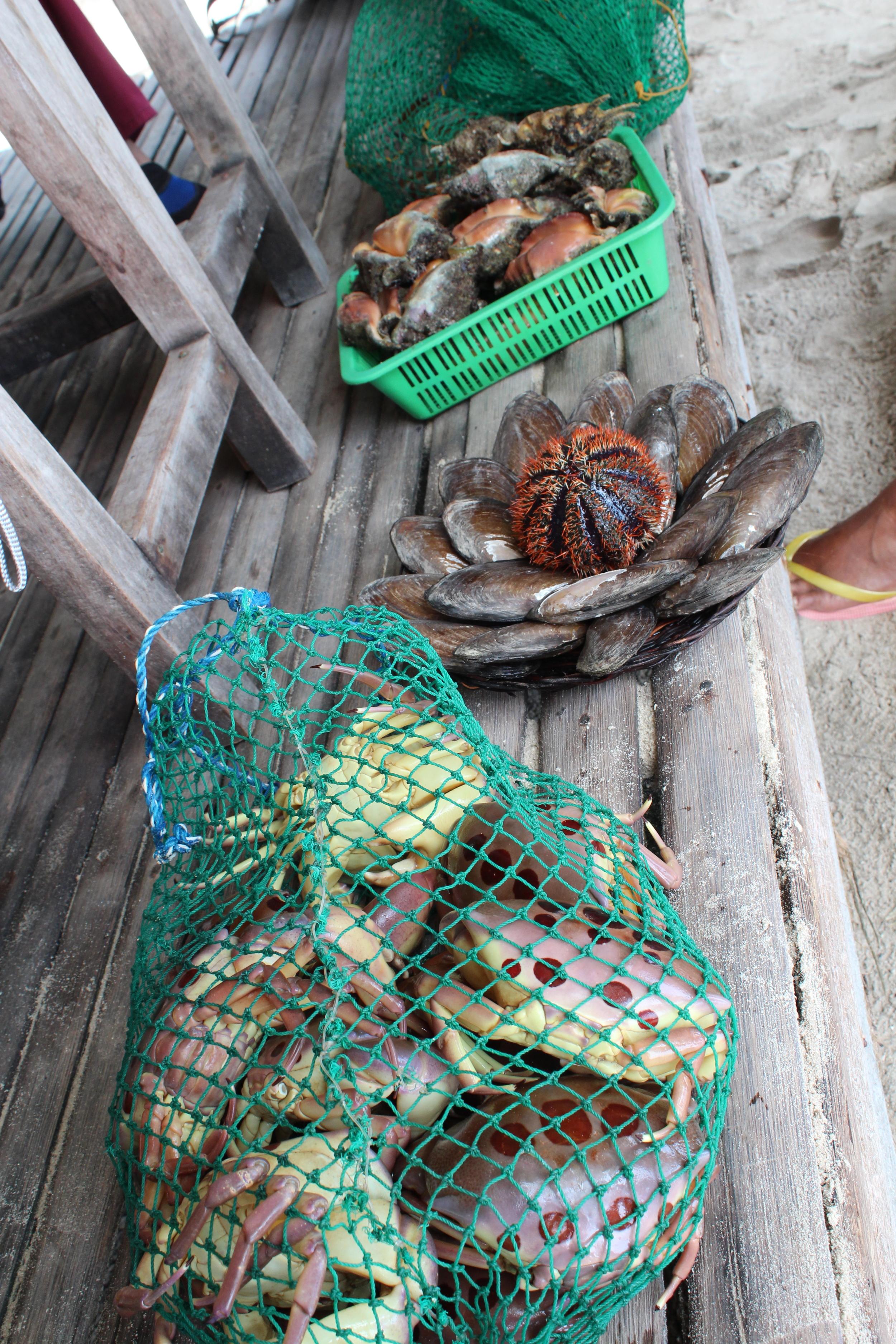 Street food vendor, Palawan style!