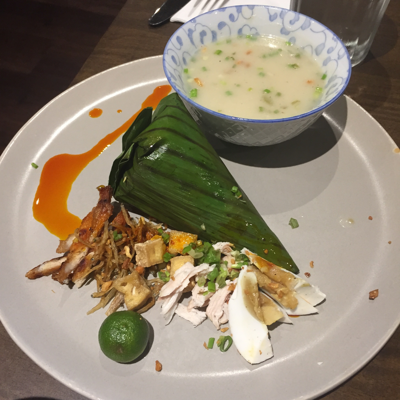 "Arroz Caldo ""Parcel"" – Kafe Batwan, Makati"