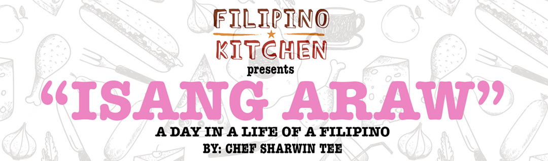 chef sharwin tee filipino kitchen isang araw