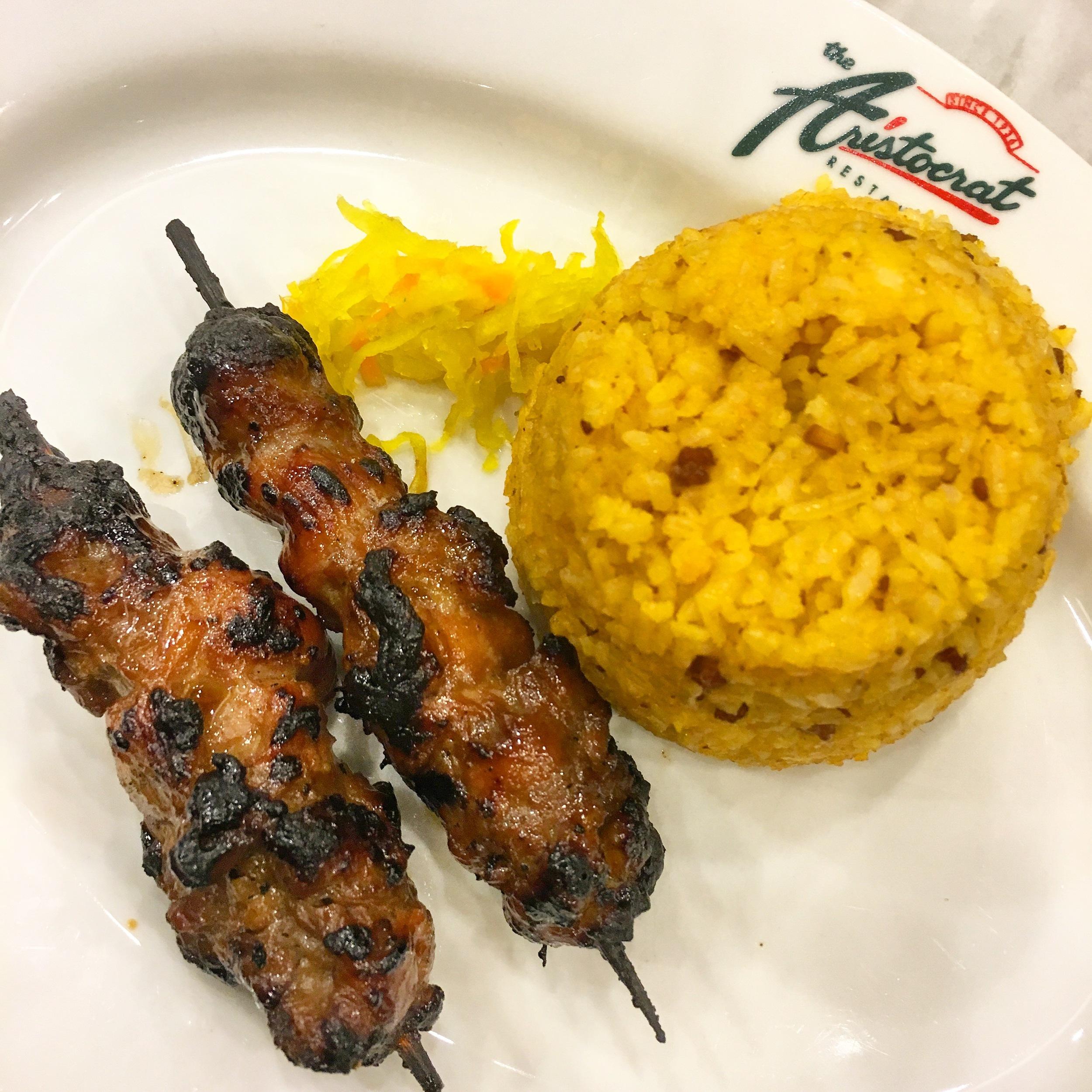 Pork BBQ and Java Rice