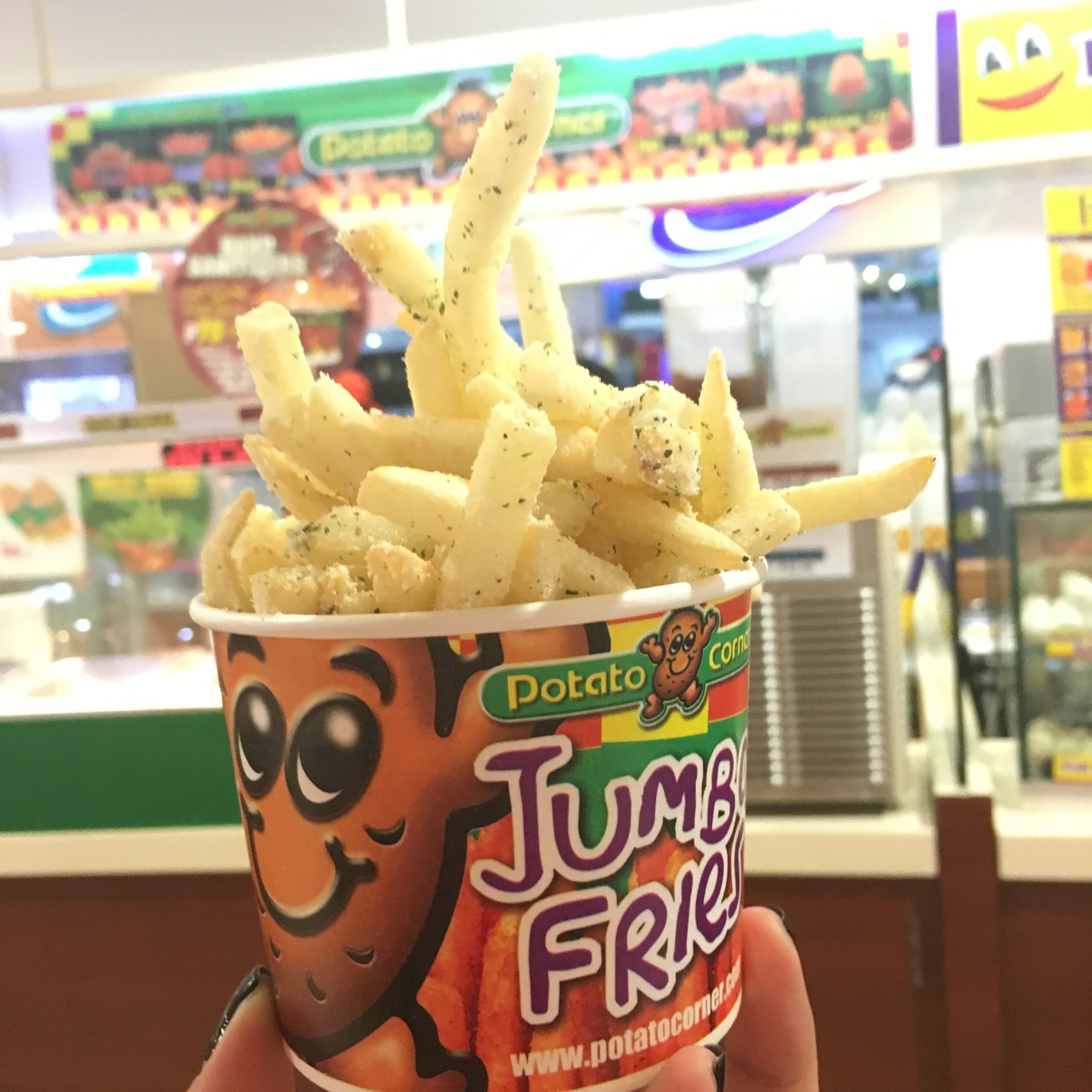 Fries from Potato Corner