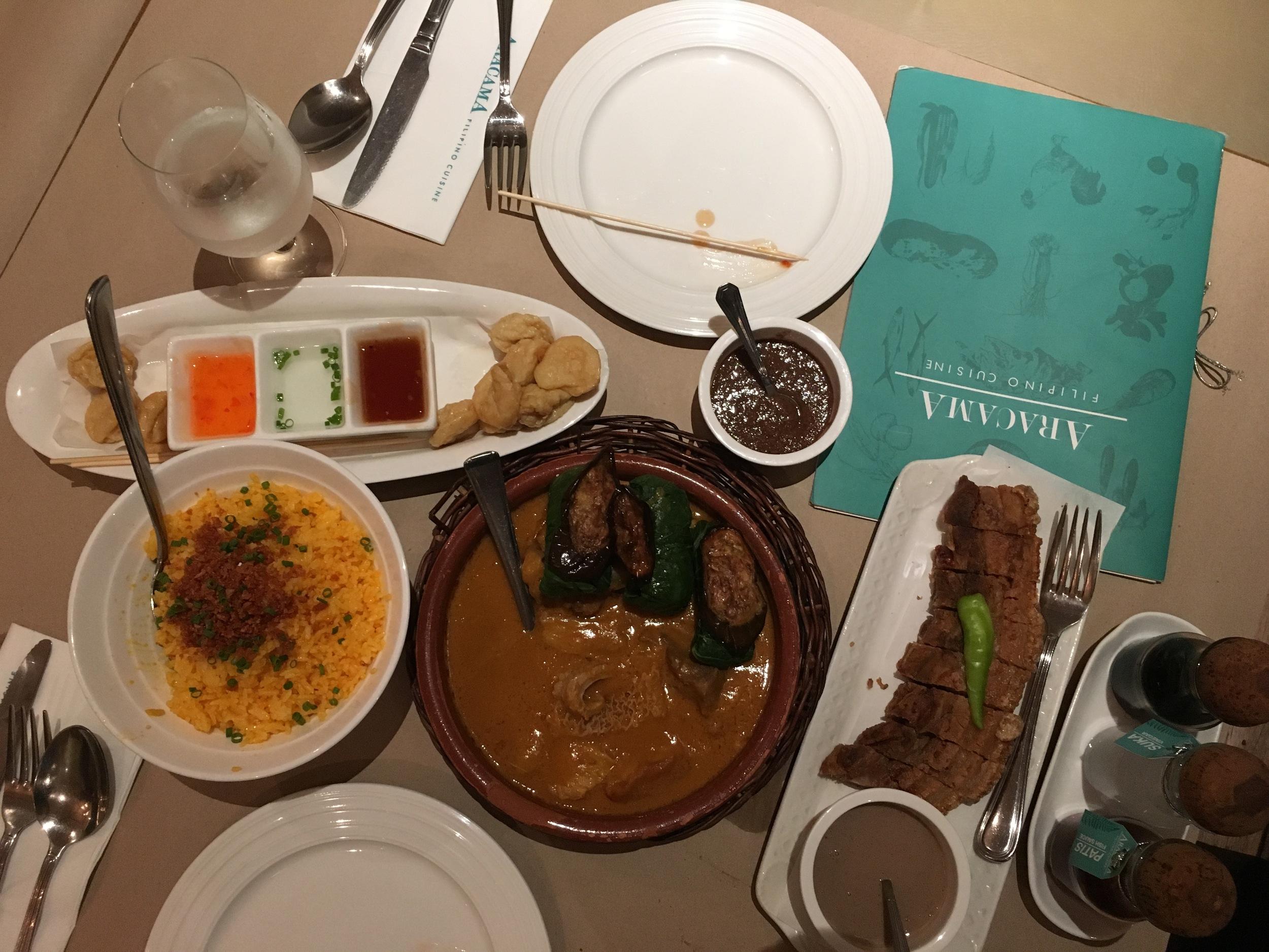 Filipino Food from Aracama