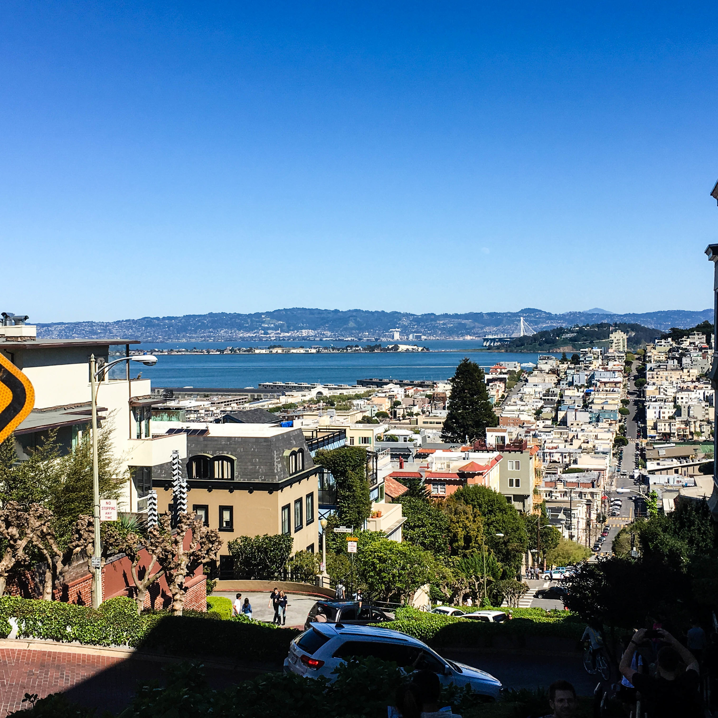 Lombard St. in San Francisco