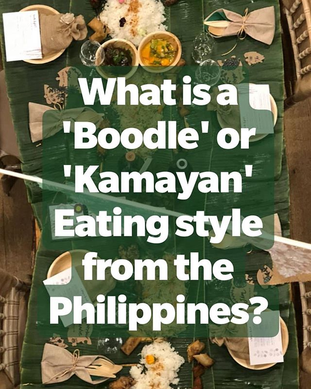 #UK's Mae Magnaye Williams (@foodwithmae) drops knowlege about #Kamayan/#boodlefight - also, check her out for her #supperclub dates in #London! #pinayssupportingpinays #pinoyssupportingpinoys #gastro #themoreyouknow