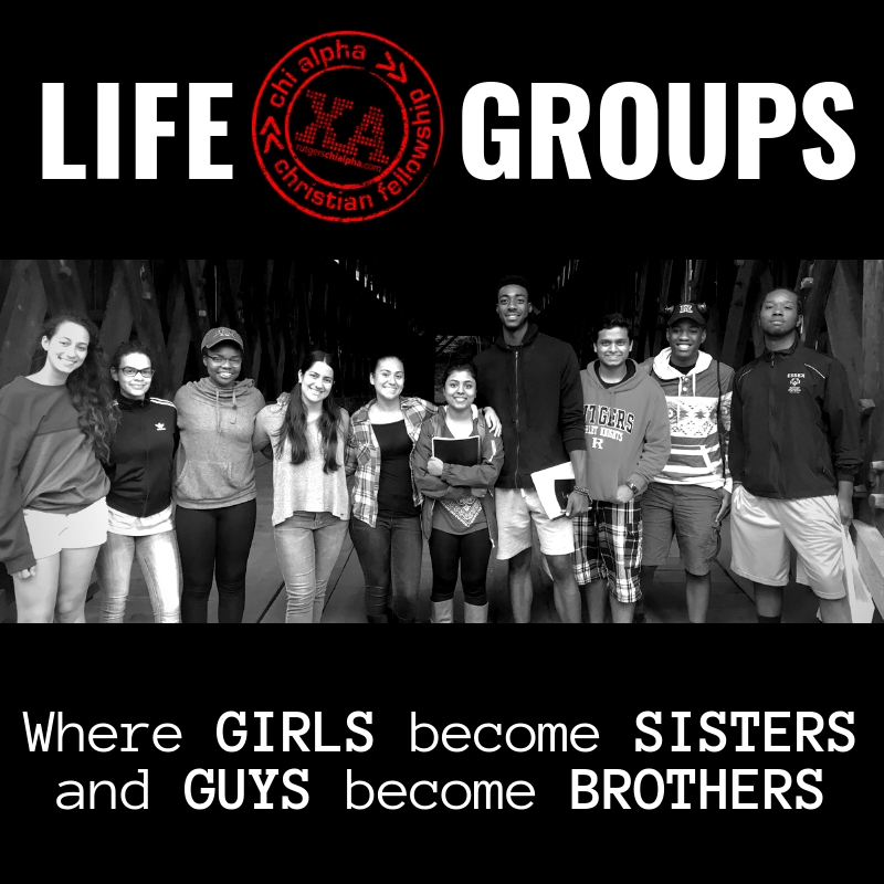 LIFE GROUP SCHEDULE