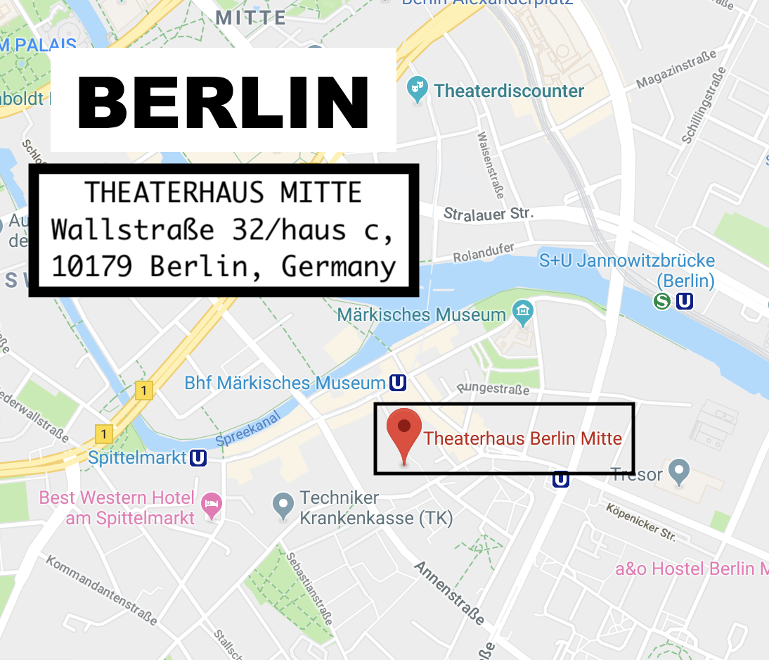 Berlin - Group OwnershipTHEATERHAUS MITTE Sunday July 74p-7pREGISTER DIRECTLY WITH PATRICK HERE