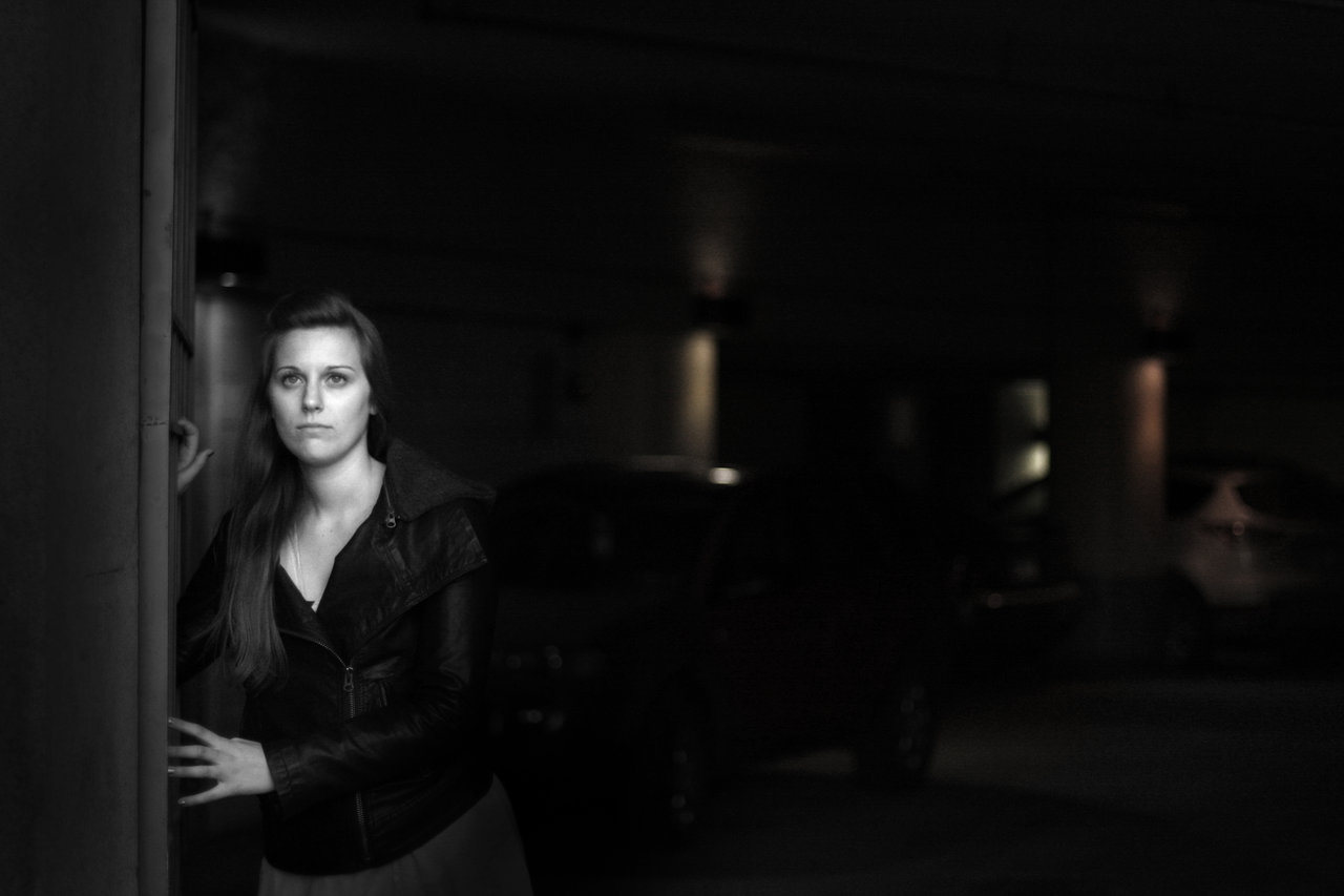 Played by the talented Lindsey Meekhof, the femme fatale for my story.