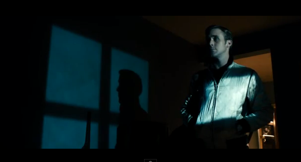 A scene from Drive .