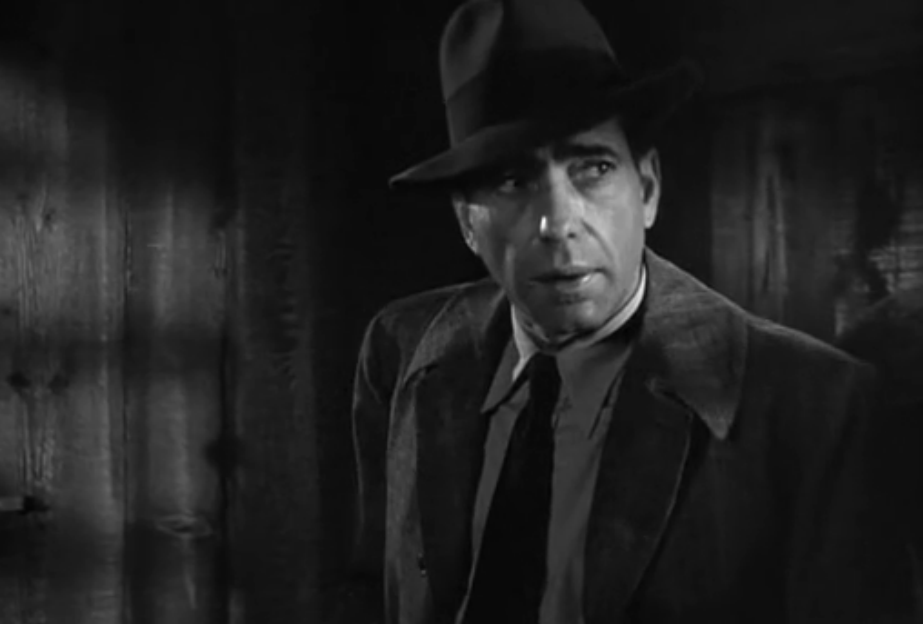 A shot from The Big Sleep.